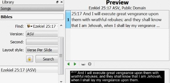 Free Church Service Presentation Software: OpenLP