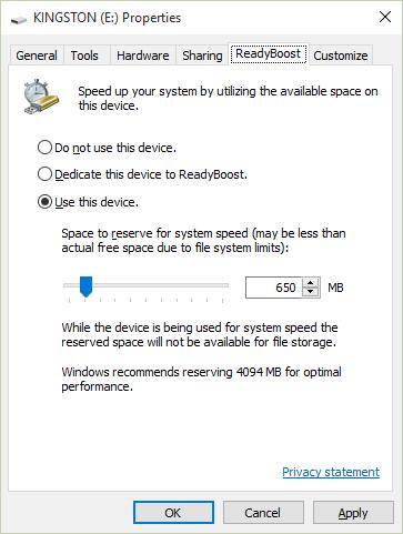 How to Increase RAM on Windows 10 using Flash Drive