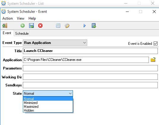 scheduled application launcher software windows 10 2