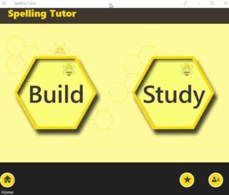 spelling tutor interface