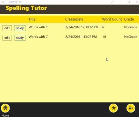 spelling tutor study