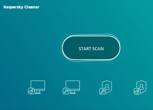 start one-click scan