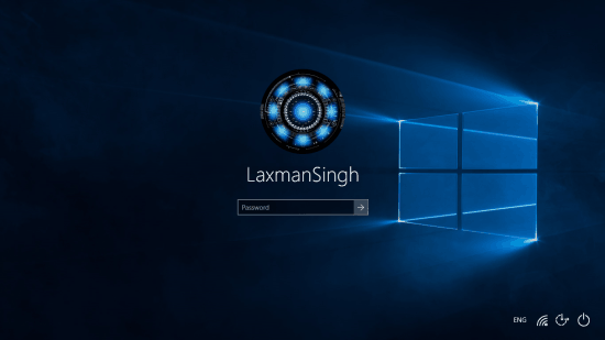 take screenshot of Windows 10 Logon Screen