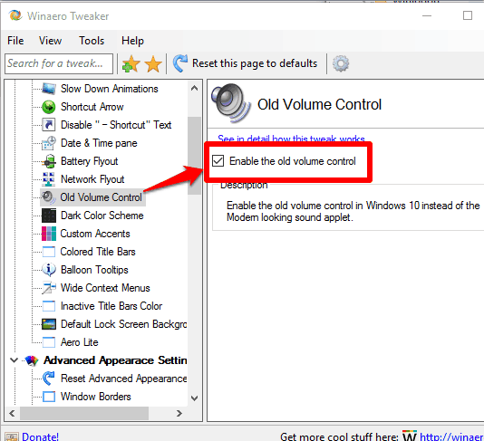 use Winaero Tweaker software for Windows 10