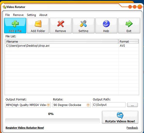 video rotate software windows 10 3