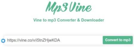 vine to mp3 converter