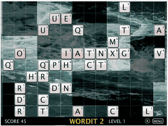 free word puzzle game