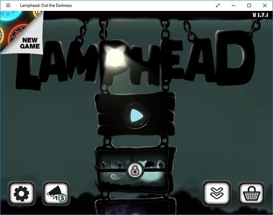 Lamphead out the darkness main menu