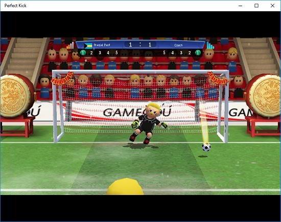 Perfect Kick gameplay