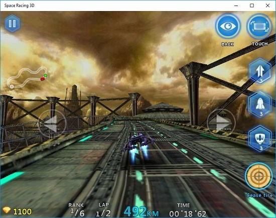 Space Racing 3D gameplay