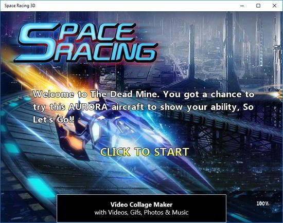 Space Racing 3D start game