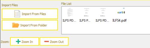 Uploaded PDf file view