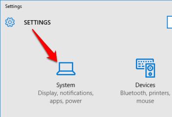 access System menu