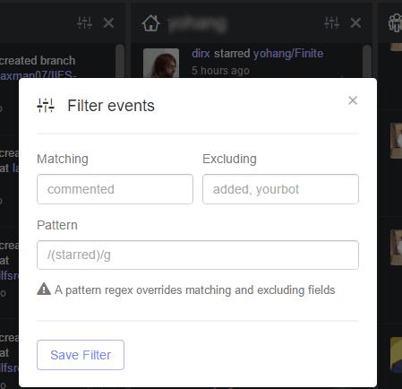 add filters
