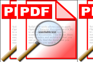 bulk convert scanned PDF to searchable PDF
