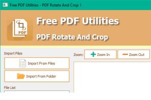 bulk rotate PDF and crop