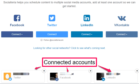 connect accounts
