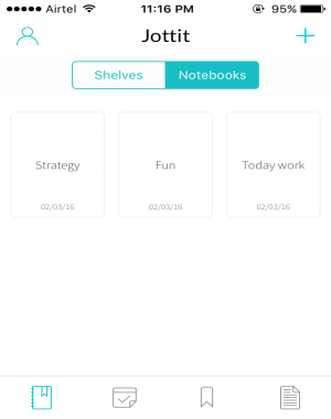 create notebooks