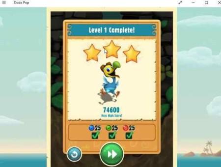 dodo pop level up