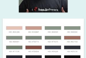 free color palette generator Chrome extension