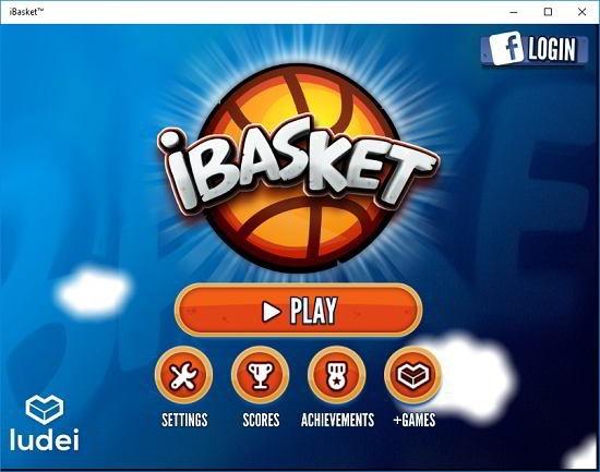 iBasket main menu