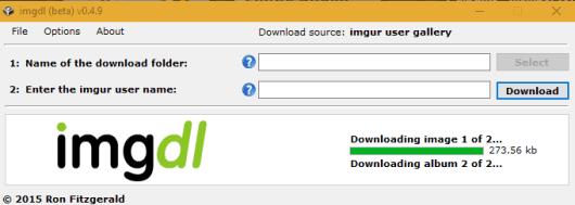 imgdl- interface