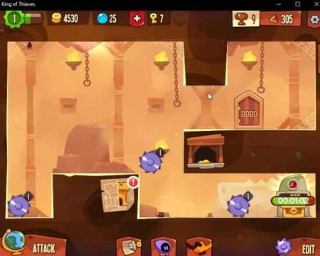king of thieves game window