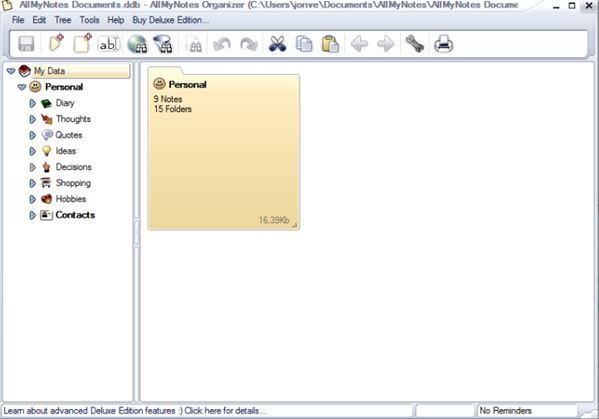 personal information management software windows 10 5