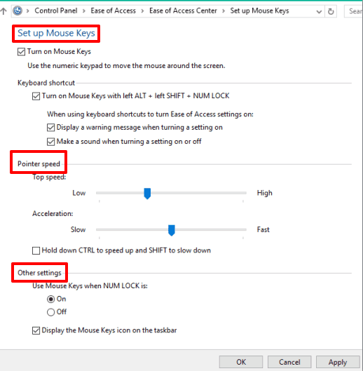 How To Use Numpad As Mouse In Windows 10