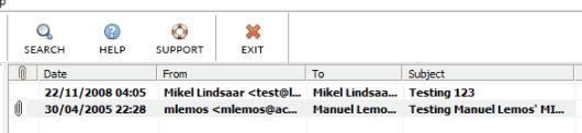 view EML file details