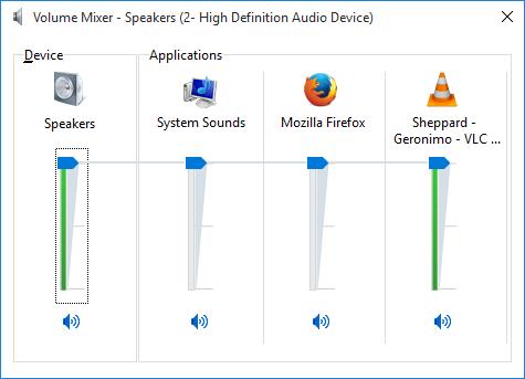 volume mixer 2