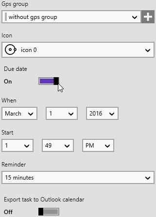you doo tasks reminder setting
