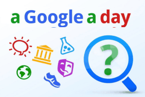 A Google A Day online puzzle game