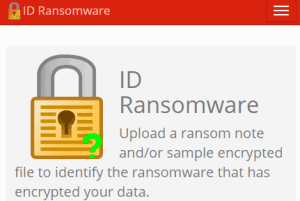 Online Ransomware Detector
