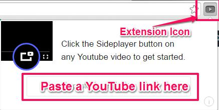 Sideplayer- Video Play Option
