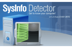 SysInfo Detector- free system information viewer software
