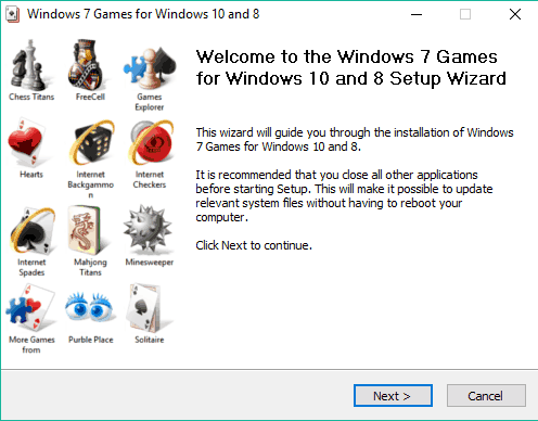Windows 7 Games for Windows 10 and 8