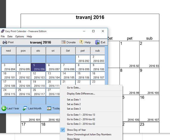calendar creator software windows 10 1
