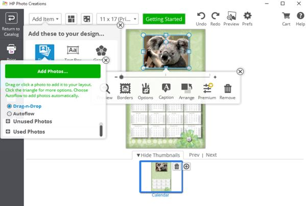 calendar creator software windows 10 3