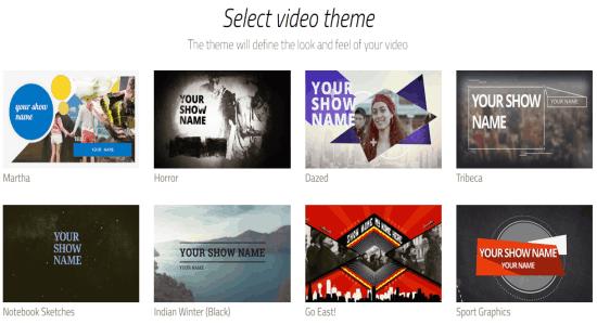 chose themes