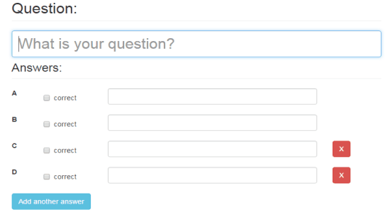 create questions