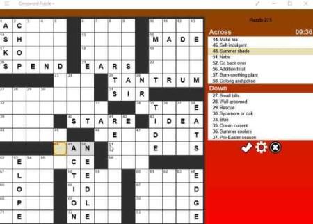 crossword puzzle+ game