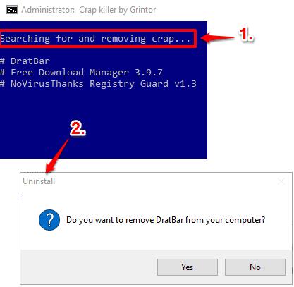 detect and uninstall crapware