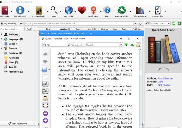 ebook organizer software windows 10 1