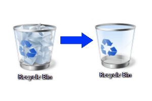 empty recycle bin featured