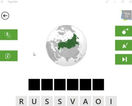 flags quiz maps game board