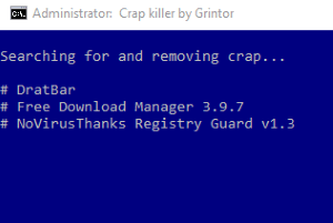 free crapware removal tool