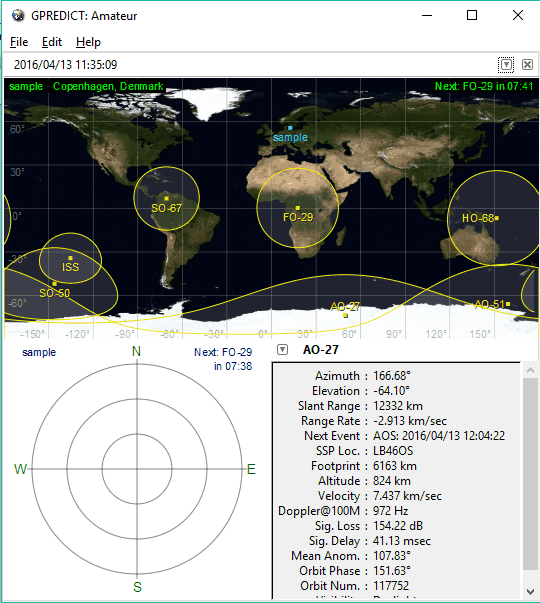 free satellite tracker and orbit prediction software