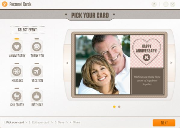 greeting card software windows 10 2