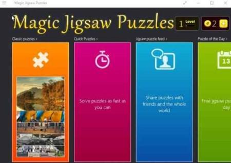 magic jigsaw puzzle home